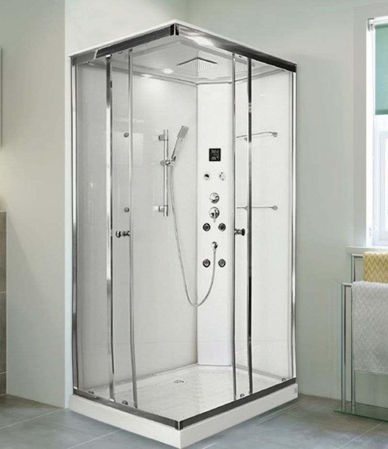 Cabina doccia multifunzione HYDRO 70x90 cm wellness