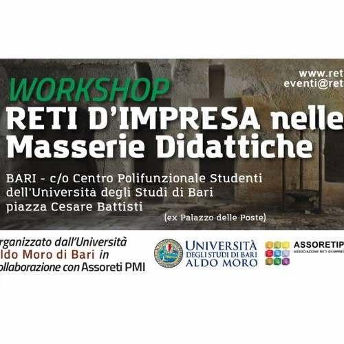 Workshop Reti d'impresa nelle Masserie Didattiche