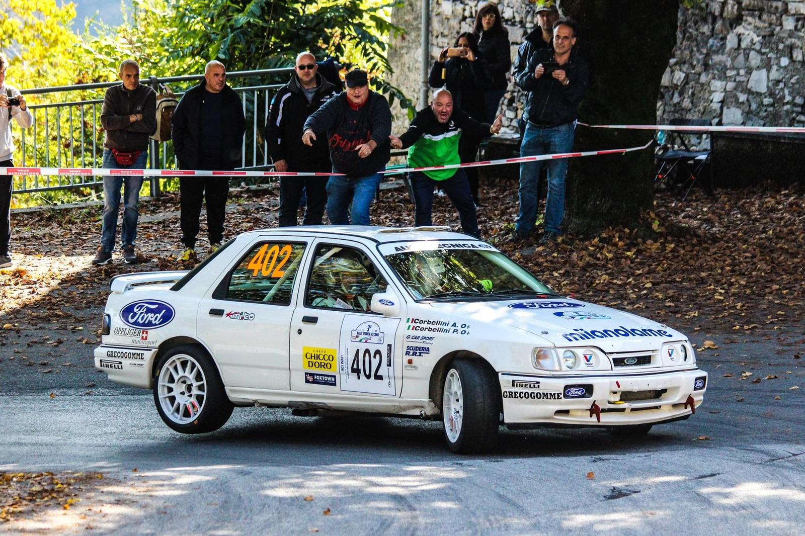 Paolo Corbellini, Ford Sierra Rs Cosworth 4x4