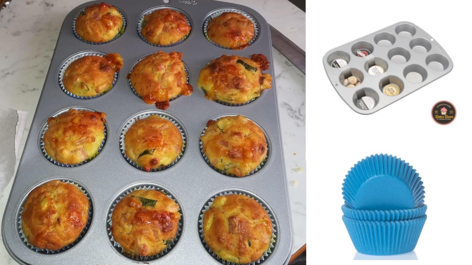 Muffin salati di Giovanna