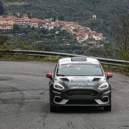 Rally Sanremo in crescendo per Ford Racing