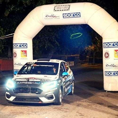 Matteo Ceriali cresce a grandi passi nel Campionato Italiano Rally