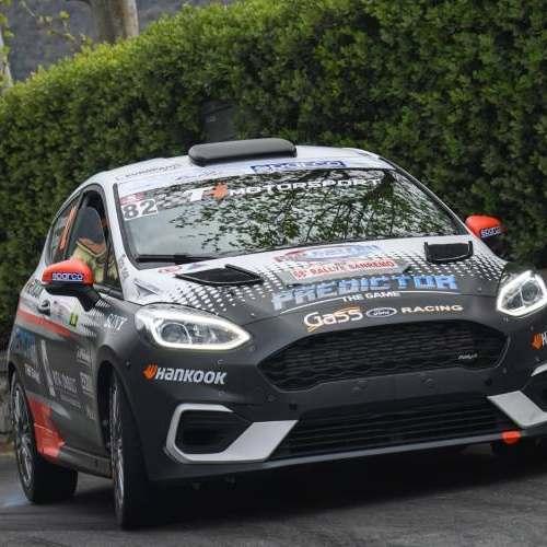 Ford Racing con Campanaro e Ceriali nella Città Eterna