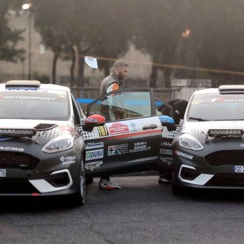 FORD Racing al via della gara bresciana, Rally 1000 Miglia