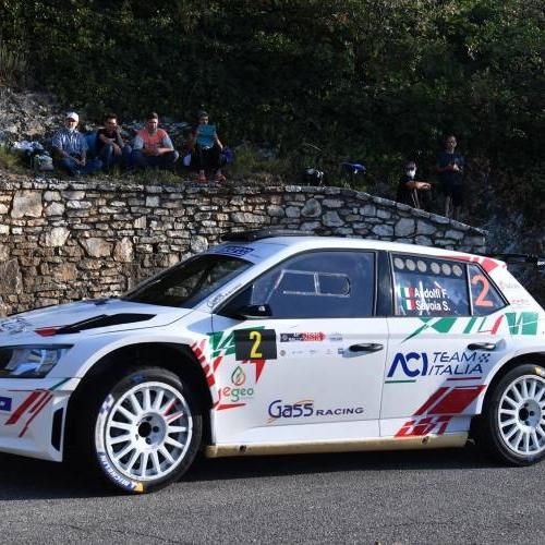 Gass Racing sfiora il podio al Rally 1000 miglia