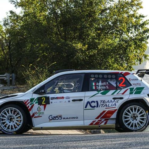 Gass Racing a tre punte al Rally 2 Valli
