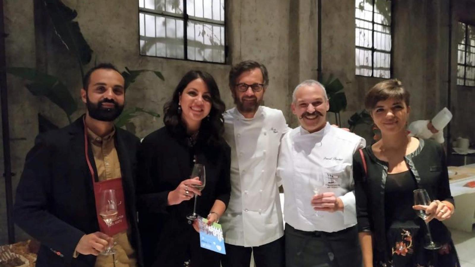 """Pascal Barbato da San Marco in Lamis entra nella """"corte"""" del noto chef Carlo Cracco"""