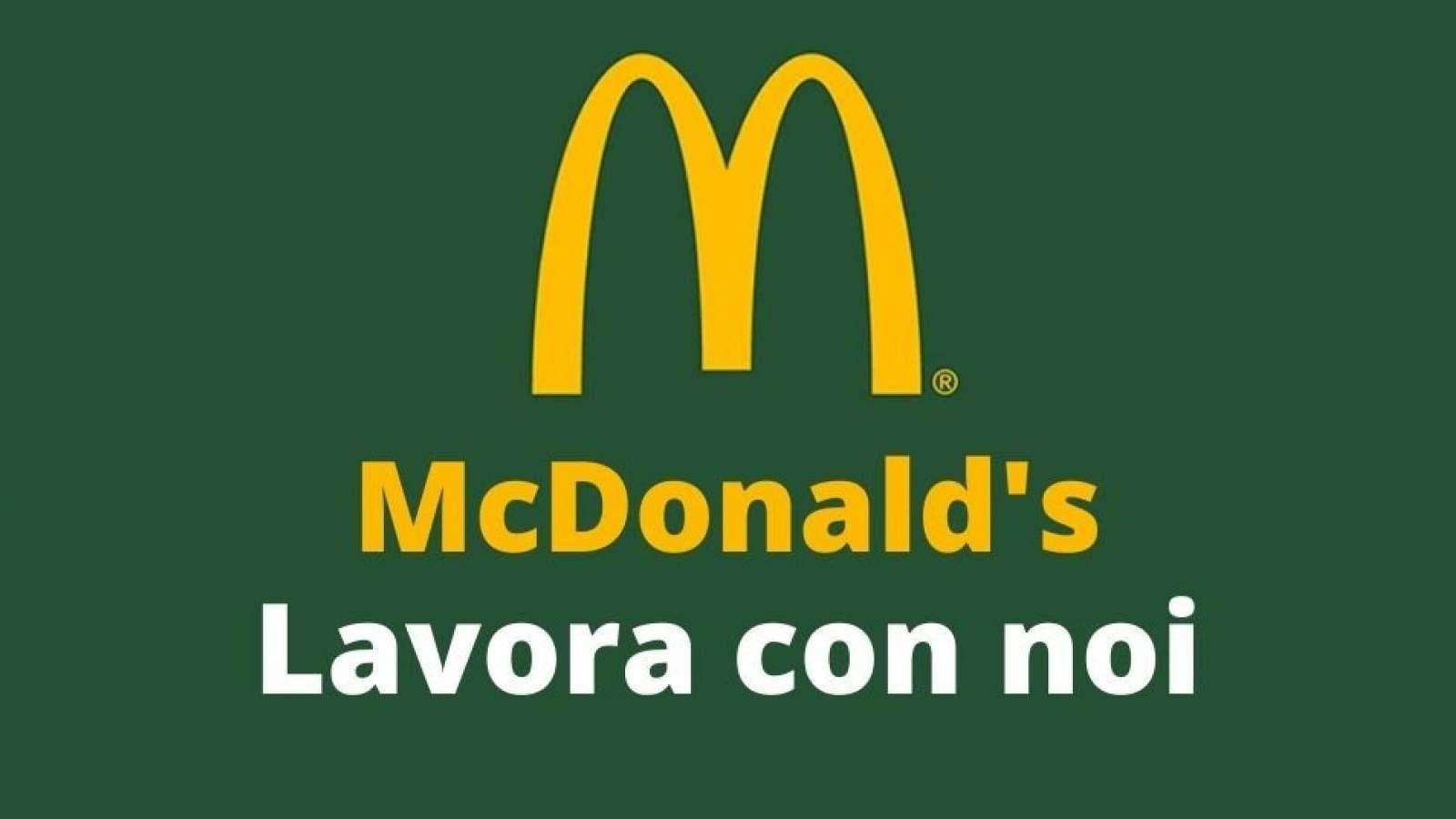 McDonald's assume 52 persone nella provincia di Foggia