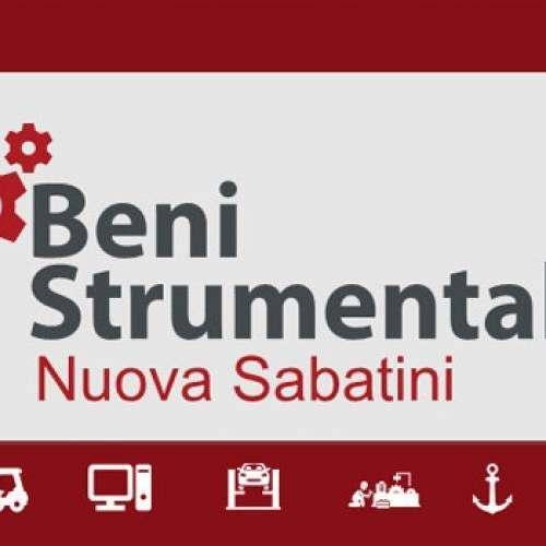 Beni Strumentali - Nuova Sabatini