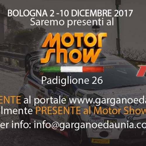 Gargano & Daunia in prima linea al Motor Show 2017.