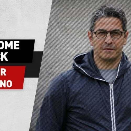 E' ufficiale! Padalino è il nuovo allenatore del Foggia.