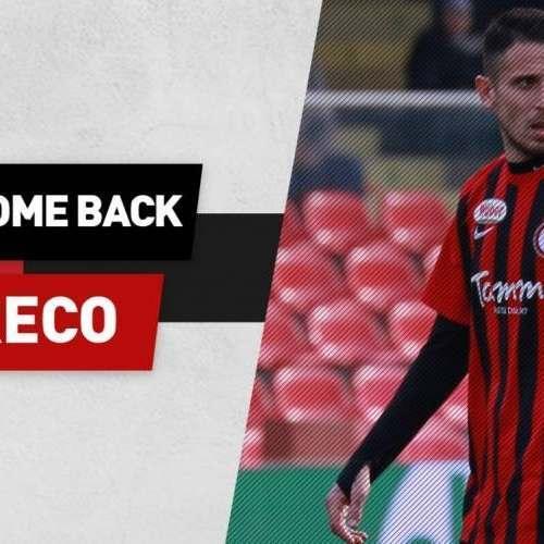UFFICIALE: Foggia, torna il centrocampista Greco