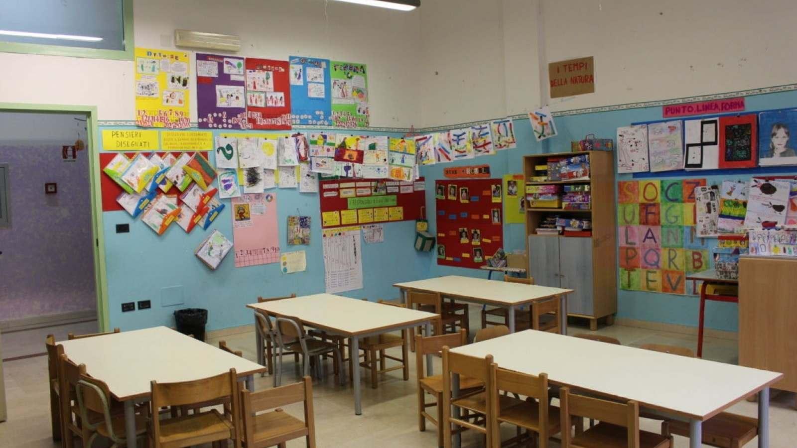 Sezione di scuola dell'infanzia