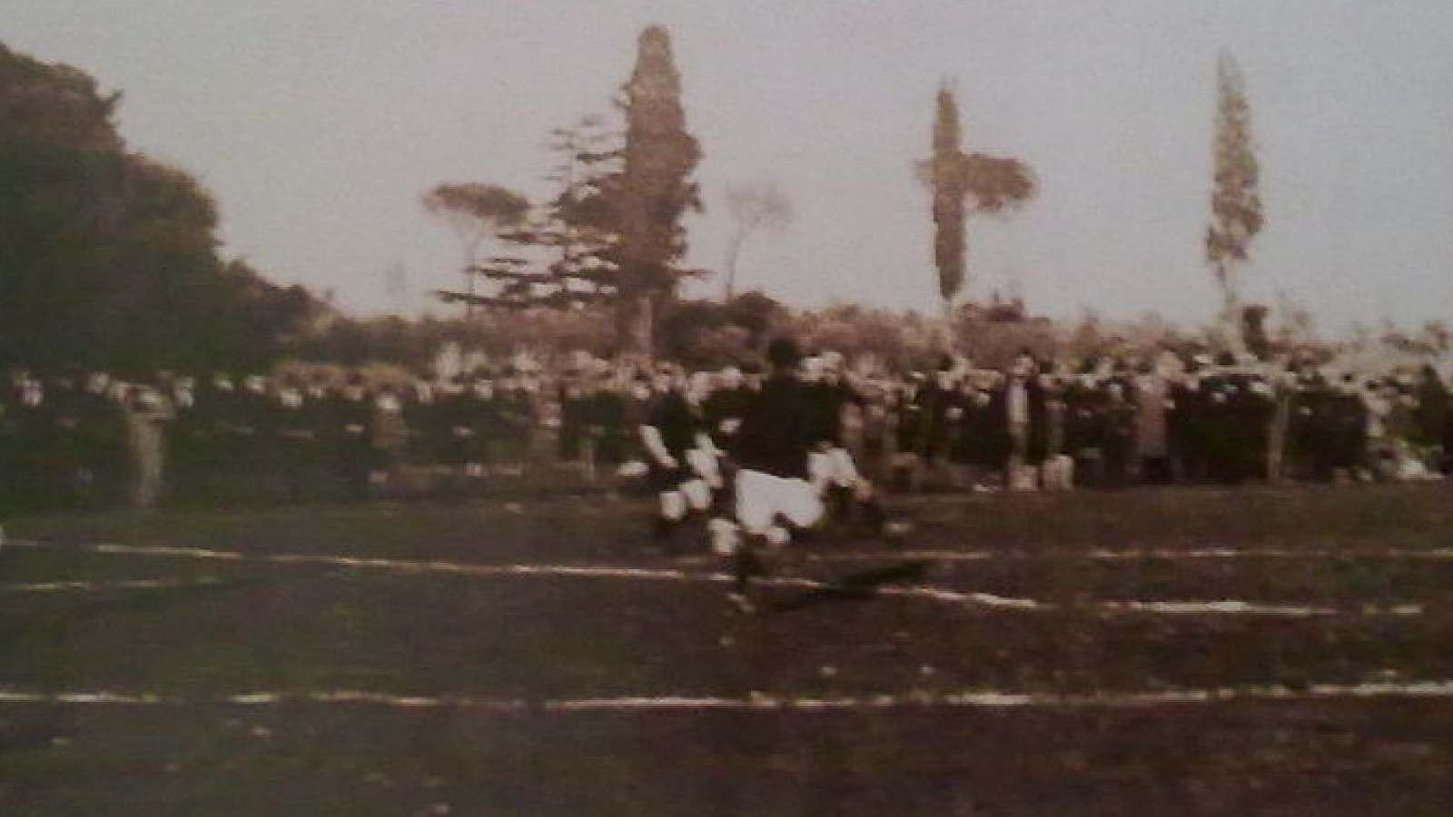 Il campo di Pila e Croce, costruito nel 1923